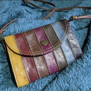 Liz Claiborne Multicolored leather purse